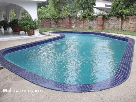 Nice looking pool