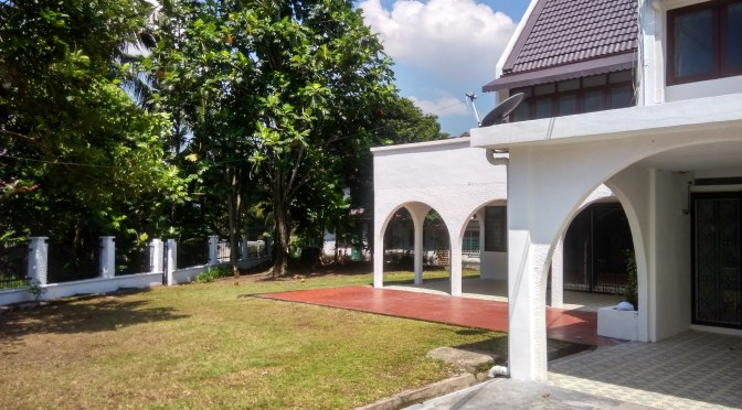 Corner Lot House for Rent in Ampang Jaya