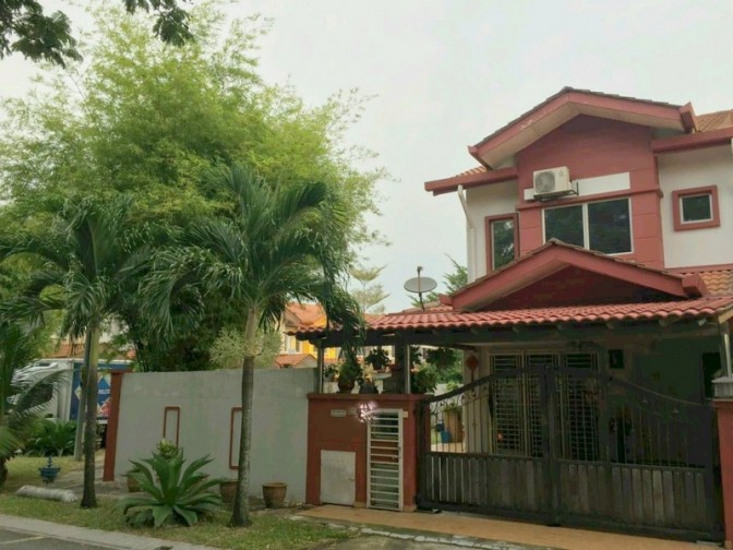 Corner House for Sale in Shah Alam (Kemuning Greenhills 2)