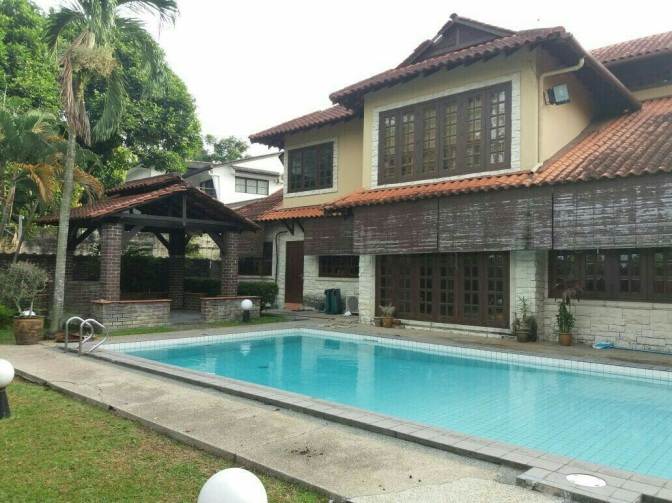Balinese- type Bungalow for Rent In Ukay Heights, Ampang