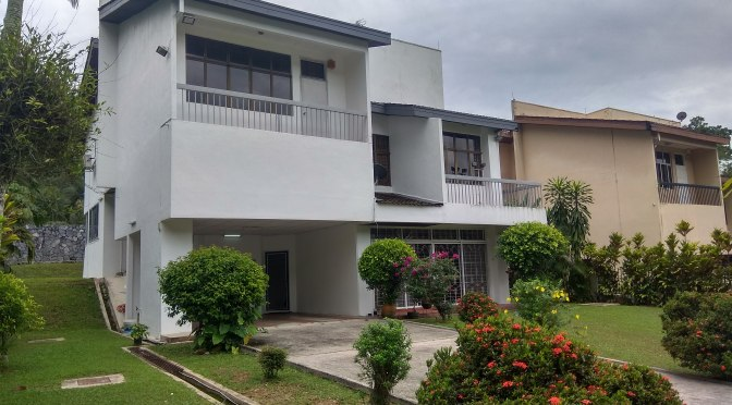 Taman TAR Bungalow with Big Lawn for Sale